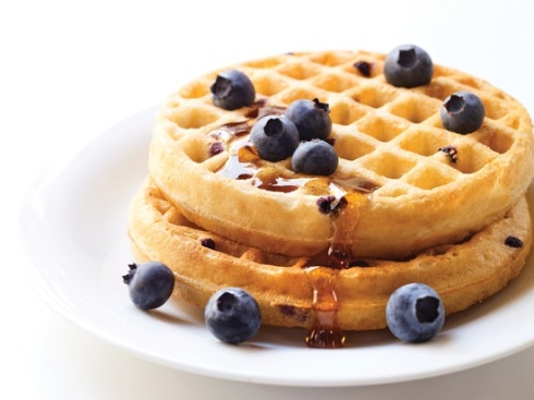 I stole this photo from Van's Waffle Pinterest page. But this isn't even staged - their waffles really look this good.