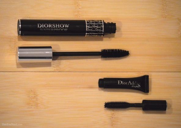 Layering Dior Addict It-Lash over Diorshow makes for AMAZING lashes.